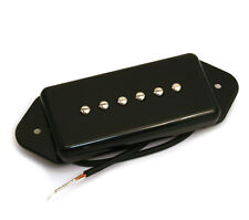 Black Dogear P90 Style RwRp Neck Guitar Pickup for Gibson/Epiphone® PU-P9D-NB