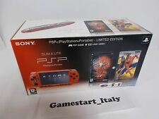 CONSOLE SONY PSP 2004 ZR - SPIDER-MAN RED LIMITED EDITION - BRAND NEW - PAL