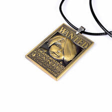 New One Piece Wanted Necklace Sanji Wanted Cosplay Pendant