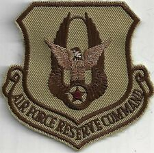 USAF AIR FORCE RESERVE COMMAND PATCH                                      DESERT