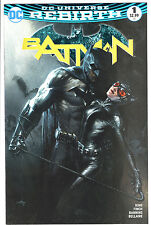 BATMAN #1 REBIRTH GABRIELE DELL'OTTO COLOR LTD 3000 VARIANT IN-HAND BULLETPROOF
