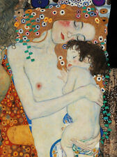 GUSTAV KLIMT * Mother & Child * QUALITY CANVAS ART PRINT