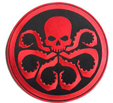 "AVENGERS MOVIE/AGENTS OF SHIELD RED SKULL/HYDRA 11.75"" JACKET PATCH- FREE S&H"