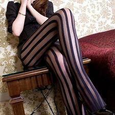 Highly Charming Women Sexy Stripes Breathable Tights Stockings Socks Pantyhos