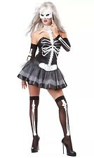 California Costumes Women's Platium Collection - Sexy Skeleton Masquerade Small