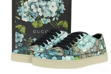 NEW GUCCI BLOOMS GG GUCCISSIMA SUPREME LOW TOP CASUAL SNEAKERS SHOES 9 G/US 10