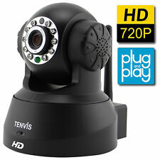 TENVIS HD Wireless IP Security Camera Motion Detection for PC Smartphone Tablet
