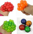 Squishy Mesh Ball Grape Squeeze Toy Gag Gift Novelty in Sensory FRUITY KID PLAY