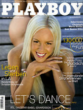 "Playboy September/09/2006   ISABEL EDVARDSSON  von ""Let´s Dance"""
