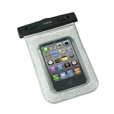 Logic3 Aqua Pouch Water Proof Waterproof Case For iPhone iPod Android Silver NEW