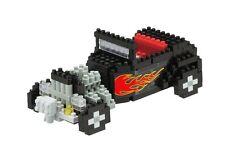 Hot Rod (Nivel 3) 3-D Nanobloque 300 Partes Mini bloques Kawada 14710