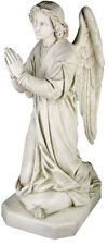 "Shrine Praying Angel sculpture statue 39"" for home or garden"