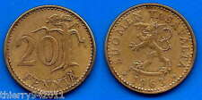Finland 20 Pennia 1963 Europe Penny Penni Free Shipping Worldwide  Paypal Skrill