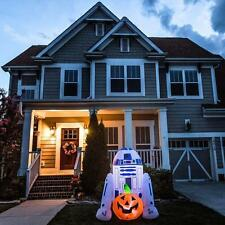 NIB 5 feet tall R2D2 Star Wars Halloween Lighted Yard Inflatable Airblown Decor