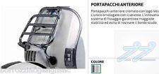 PORTAPACCHI ANTERIORE CROMATO ORIGINALE VESPA PX 125 - 150