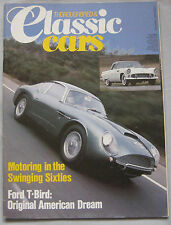 Classic Cars 02/1984 featuring Bentley Corniche, Ford Thunderbird, MGA, Mercedes