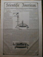 Gold Amalgamator & Washer 1852 Scientific American