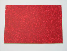 Red Pearl 3 Ply Blank Pickguard Scratch Plate Material Sheet 290x430(mm)