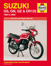 Haynes Manual 0888-Suzuki Gs125, Gn125, gz125 Marauder, Dr125 (82 - 05)