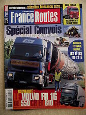France Routes n° 256 Avec poster GRAND PRIX CAMION CHARADE CLERMONT FERRAND 2003