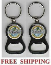 HOEGAARDEN BELGIAN WHITE ALE 2 KEY RING BEER BOTTLE WRENCH METAL OPENER NEW