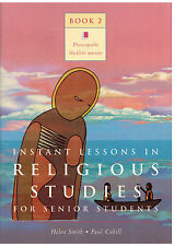 Instant Lessons in RELIGIOUS STUDIES for Senior Students...Photocopiable...