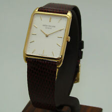 PATEK PHILIPPE 18K YELLOW GOLD GENTLEMAN's WRIST WATCH MANUAL WIND Ref. 3803