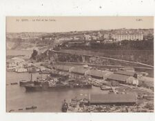 Oran Port & Docks North Africa Vintage Postcard 909a