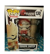 FUNKO POP SWARM SNIPER GEARS OF WAR gamestop EXCLUSIVE #130 in stock NMIB