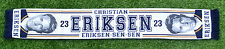 CHRISTIAN ERIKSEN TOTTENHAM FOOTBALL SCARF NEW 2016 17