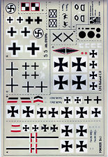 BLUE RIDER German WWI 1/48 decals Fokker Albatros Roland *FREE POSTAGE WITH KIT*