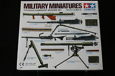 XD097 TAMIYA 1/35 maquette 35121 300 US infantry weapons set military miniatures