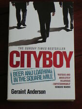 Geraint Anderson - Cityboy (Headline Publishing, London, 2009)