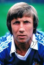 Signed Colin Bell Manchester City Autograph Photo Maine Road