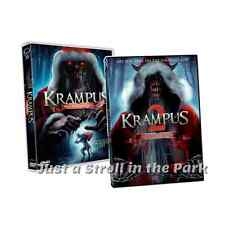 Krampus The Christmas Devil: Complete Horror Movies 1 & 2 Box / DVD Set(s) NEW!