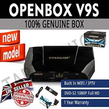 Openbox V9S Digital Full HD TV Satellite Receiver Box Genuine WIFI IPTV UK STOCK