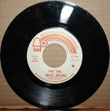 ROYAL JESTERS **That Girl** LADY SUNSHINE Northern Soul 45 on BELL 964 PROMO