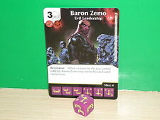 MARVEL DICE MASTERS Civil War (inglés) - 106 Baron Zemo