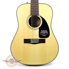 Brand New Fender CD-100 12 String Acoustic Guitar Natural Spruce