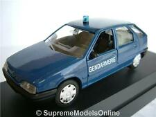 CITROEN ZX GENDARMARIE POLICE MODEL CAR 1/43RD SCALE CLASSIC ISSUE K8967Q~#~
