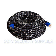 20FT PREMIUM HDMI CABLE 1.4 1080P BLURAY 3D TV DVD PS3 XBOX HDTV 20 FEET NEW