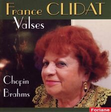 France CLIDAT / Valses Chopin-Brahms / (1 CD) / NEUF