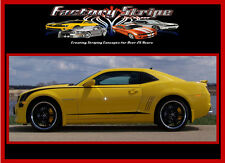 2010 2011 2012 2013 CHEVROLET CAMARO ROCKER INSERT STRIPE DECAL FACTORY STRIPE