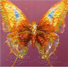 "NO Frame/Pure Hand-painted Canvas Oil Painting Art ""Butterfly"" YH2575501"