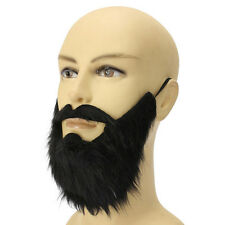 Fake Beard Mustache Simulation Man Stage Shows Lifelike Makeup Props Whiskers