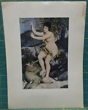 "Plate Four ""Diana (The Huntress)"" 1867 6.5"" x 10"" Print by Pierre Auguste Renoir"