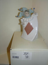 NAO BY LLADRO ACE OF DIAMONDS FROM PACK OF CARDS SET BOXED FIGURE #1279 LOVELY