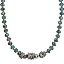 NEW KIRKS FOLLY MYSTIC DREAM BEADED MAGNETIC NECKLACE SILVERTONE