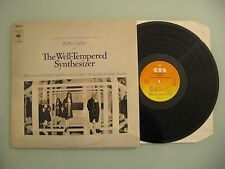 Walter Carlos ‎- The Well-Tempered Synthesizer, NL'89, LP, Ri, Vinyl: vg++