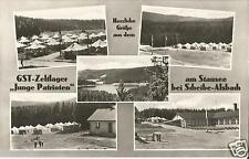 GST-Zeltlager Junge Patrioten, Scheibe-Alsbach b. Neuhaus Rennweg, FDJ, Pioniere